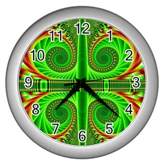 Design Wall Clock (Silver)