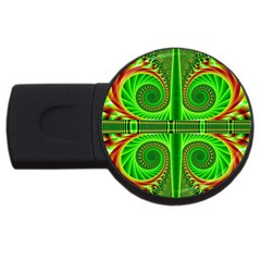 Design 4GB USB Flash Drive (Round)