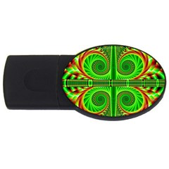 Design 4GB USB Flash Drive (Oval)