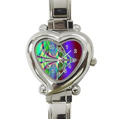 Design Heart Italian Charm Watch