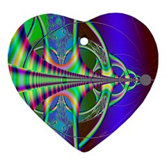 Design Heart Ornament (Two Sides)