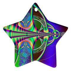 Design Star Ornament (Two Sides)