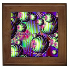 Balls Framed Ceramic Tile