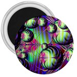 Balls 3  Button Magnet Front