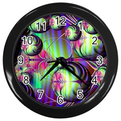 Balls Wall Clock (Black)