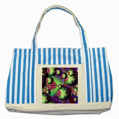 Balls Blue Striped Tote Bag