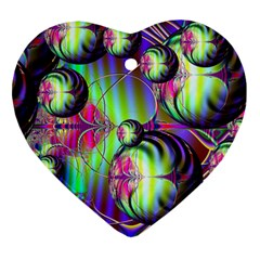 Balls Heart Ornament (two Sides)