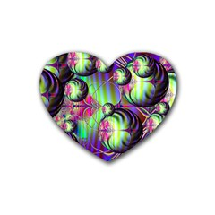 Balls Drink Coasters 4 Pack (heart)