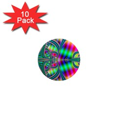 Modern Art 1  Mini Button Magnet (10 Pack)