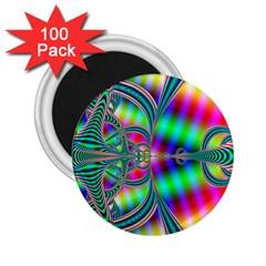 Modern Art 2 25  Button Magnet (100 Pack)