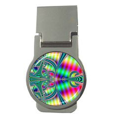 Modern Art Money Clip (round)