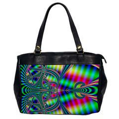 Modern Art Oversize Office Handbag (one Side)