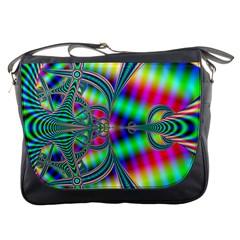 Modern Art Messenger Bag
