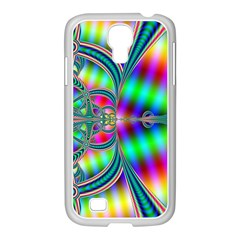 Modern Art Samsung GALAXY S4 I9500/ I9505 Case (White)