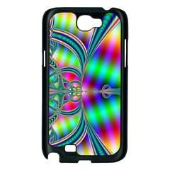 Modern Art Samsung Galaxy Note 2 Case (Black)