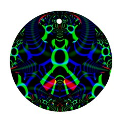 Dsign Round Ornament (two Sides)