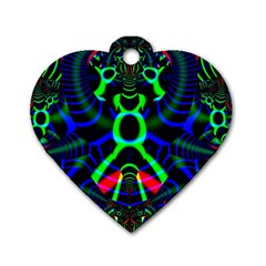 Dsign Dog Tag Heart (Two Sided)
