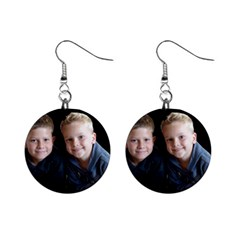 Deborah Veatch New Pic Design7  Mini Button Earrings