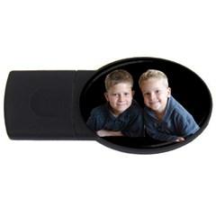 Deborah Veatch New Pic Design7  1GB USB Flash Drive (Oval)