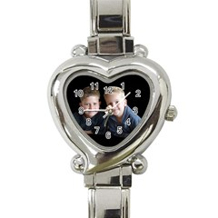 Deborah Veatch New Pic Design7  Heart Italian Charm Watch