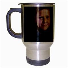 Deborah Veatch New Pic Design7  Travel Mug (Silver Gray)