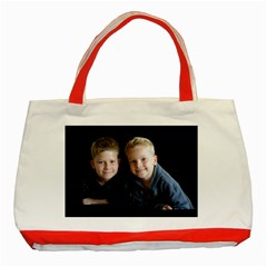 Deborah Veatch New Pic Design7  Classic Tote Bag (red)