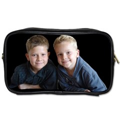 Deborah Veatch New Pic Design7  Travel Toiletry Bag (Two Sides)