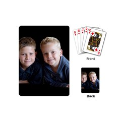 Deborah Veatch New Pic Design7  Playing Cards (mini)