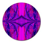 Modern Art 8  Mouse Pad (Round) Front