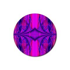 Modern Art Drink Coaster (Round)