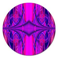Modern Art Magnet 5  (Round)