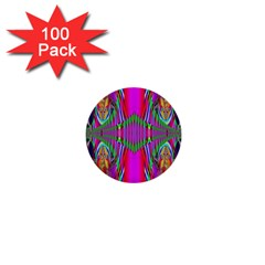 Modern Art 1  Mini Button (100 pack)