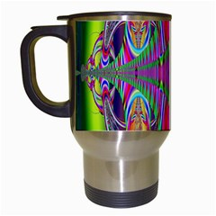 Modern Art Travel Mug (White)