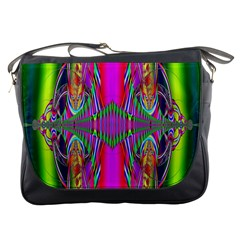 Modern Art Messenger Bag