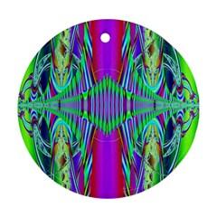 Modern Design Round Ornament