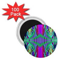 Modern Design 1.75  Button Magnet (100 pack)