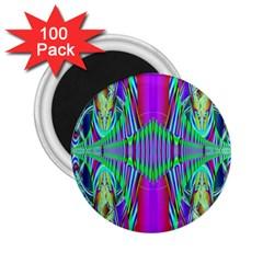 Modern Design 2.25  Button Magnet (100 pack)