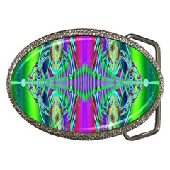 Modern Design Belt Buckle (oval)