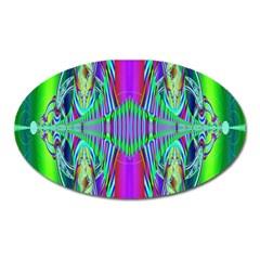 Modern Design Magnet (Oval)