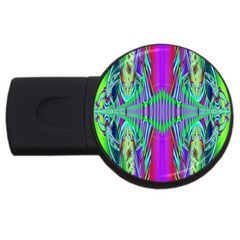 Modern Design 2gb Usb Flash Drive (round)