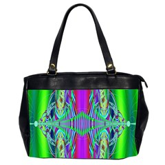Modern Design Oversize Office Handbag (Two Sides)