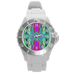 Modern Design Plastic Sport Watch (Large)