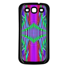 Modern Design Samsung Galaxy S3 Back Case (Black)