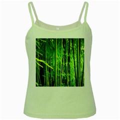 Bamboo Green Spaghetti Tank