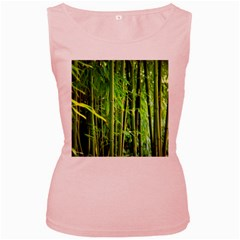 Bamboo Womens  Tank Top (Pink)