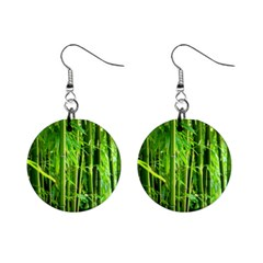 Bamboo Mini Button Earrings