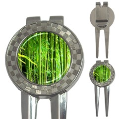 Bamboo Golf Pitchfork & Ball Marker