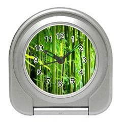 Bamboo Desk Alarm Clock