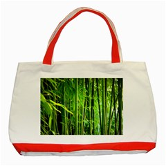 Bamboo Classic Tote Bag (Red)