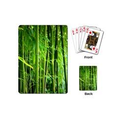 Bamboo Playing Cards (mini)
